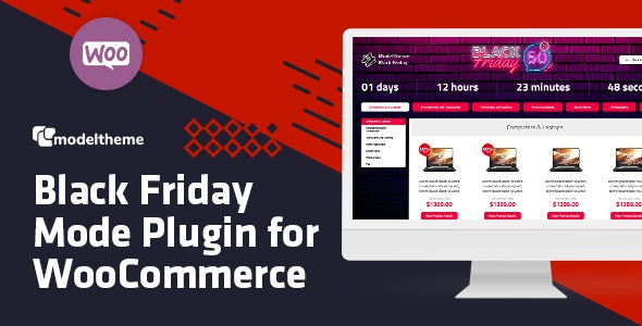 Download Black Friday / Cyber Monday Mode for WooCommerce…