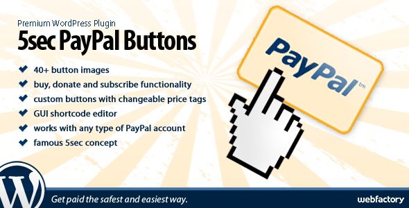 5sec PayPal Buttons for WordPress.png