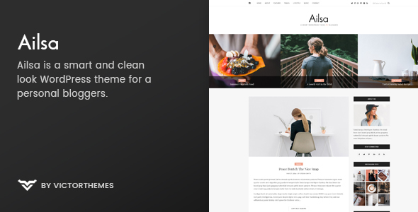 Download Ailsa – Personal Blog WordPress Theme v1.4 Nulled