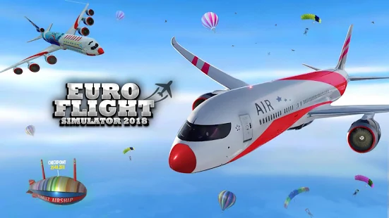 Airplane Simulator 2018 + (Mod Money) for Android.png