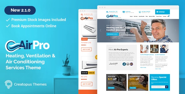 AirPro - Heating and Air conditioning WordPress Theme for Maintenance Services.jpg