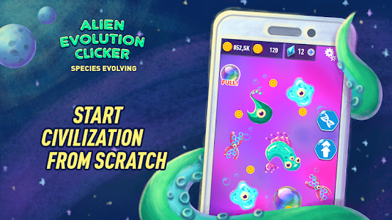 Alien Evolution Clicker Species Evolving + (Mod Money) Free For Android.png