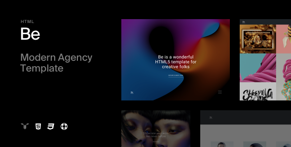 Be - Responsive HTML5 Agency Template.png