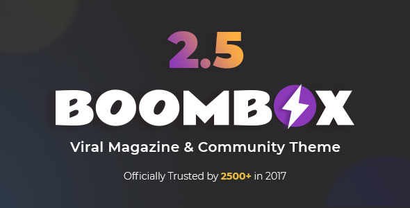 BoomBox - Viral Magazine WordPress Theme v2.6.0.1 Nulled
