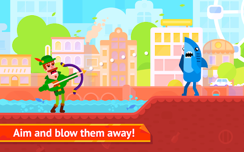 Bowmasters + (Mod Money) Free For Android.png