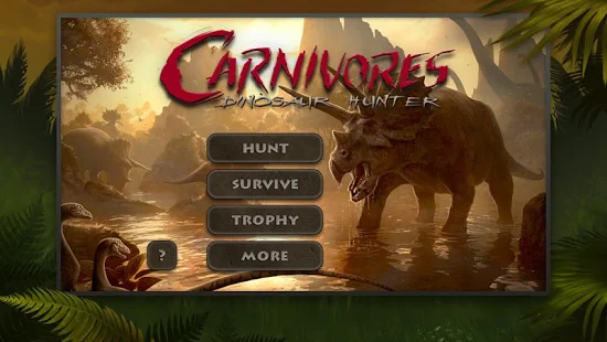Carnivores Dinosaur Hunter HD + (Unlock all DLCs Infinite points) Free For Android.png