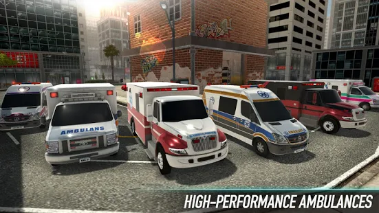 City Ambulance - Rescue Rush + (Mod Money) Free For Android.png