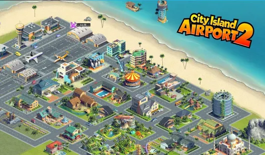 City Island Airport 2 + (much money) Free For Android.png