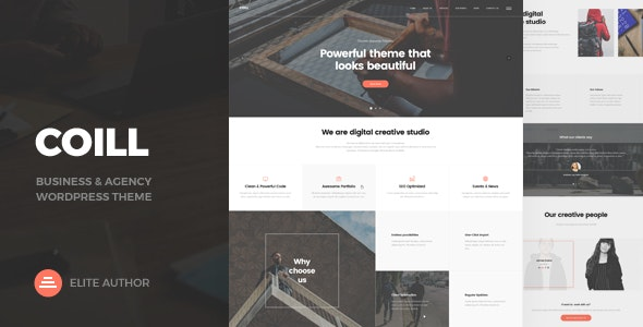 Download Coill   Business & Agency WordPress Theme v1.0…