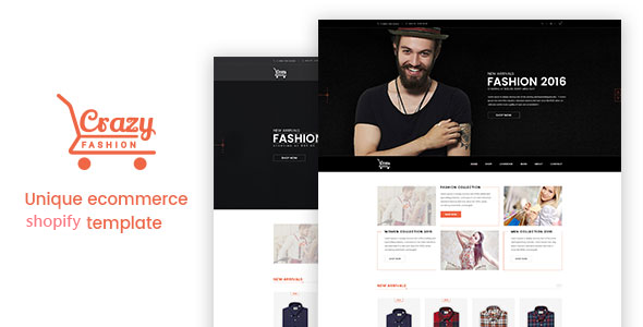 Download Crazy Fashion – Shopify Responsive Theme v1.0.1 Nulled