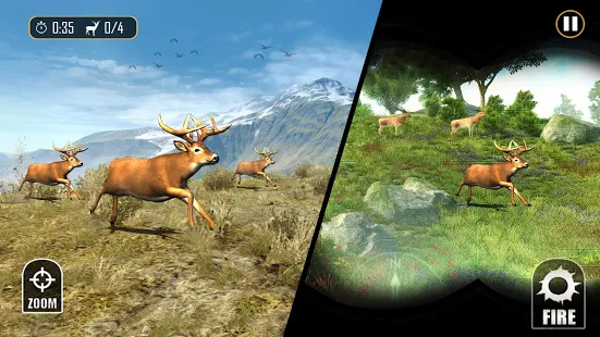 Deer Hunting - Sniper Shooting + (Mod Money) Free For Android.png