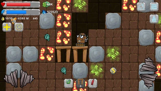 Digger Machine find minerals + (Mod Money) Free For Android.png