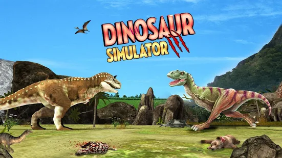 Dinosaur Games Simulator 2018 + (Mod Money) Free For Android.png