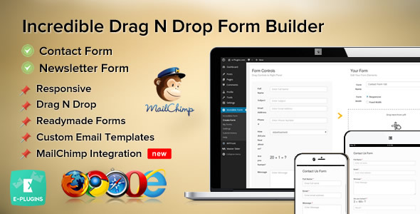 Download Incredible Contact Form with MailChimp v1.0.3 Nulled