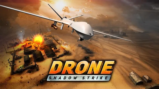 Drone Shadow Strike + МOD (Unlimited Coin Cash) Free For Android.png