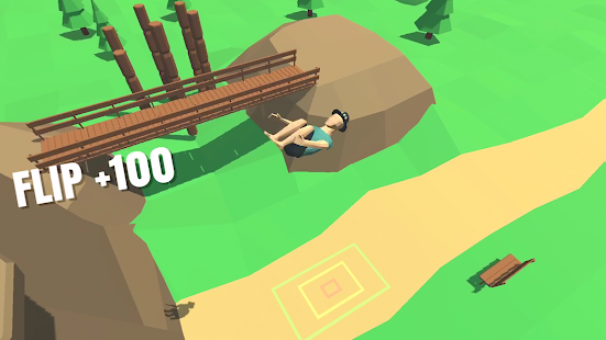 Flip Trickster - Parkour Simulator + МOD (A Lot Of Coin Skip) Free For Android.png