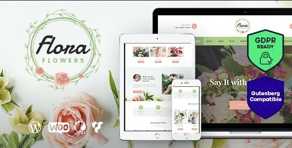 Download Flowers Boutique and Florist WordPress Theme v1.3.1 Nulled
