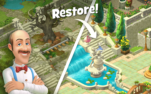 Gardenscapes - New Acres + МOD (Free Assignments) Free For Android.png