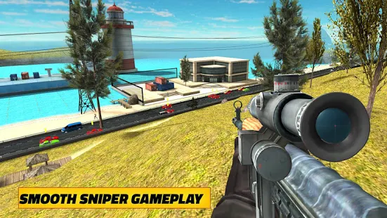 Highway Sniper Shooter + (Mod Money) Free For Android.png