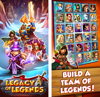Legacy of Legends - Best Idle RPG + МOD (High Skill duration