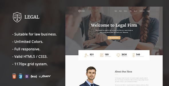 Legal - Law Firm OnePage HTML Template.jpg