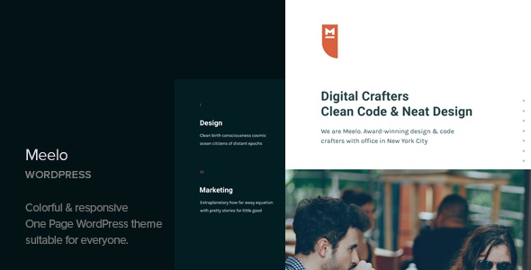 Download Meelo – Corporate One Page WordPress Theme v1.2…