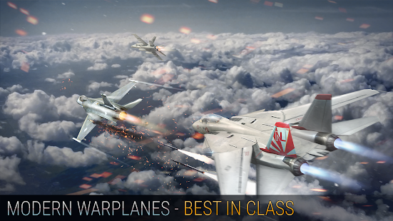Modern Warplanes + МOD (Free Shopping) Free For Android.png