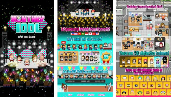 Monthly Idol + МOD (Free Shopping) Free For Android.png