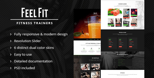 Personal Trainer - One Page HTML5 Template.jpg