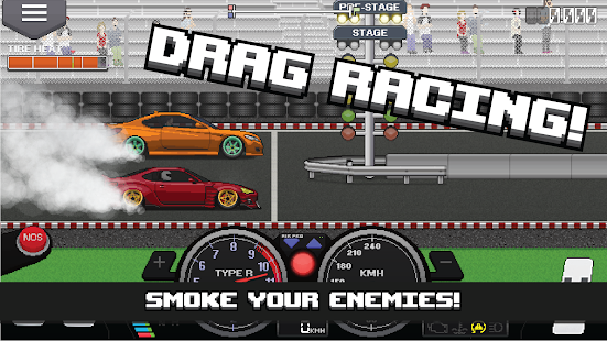 Pixel Car Racer + (Mod Money) Free For Android.png