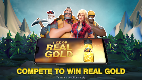 Planet Gold Rush + (Mod Money) Free For Android.png