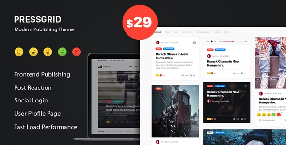 PressGrid - Frontend Publish Reaction & Multimedia Theme.jpg