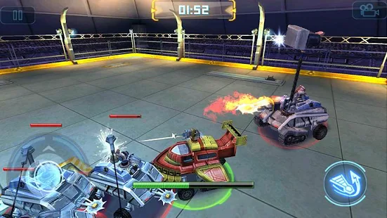 Robot Crash Fight + МOD (Unlimited gold coins banknotes) Free For Android.png