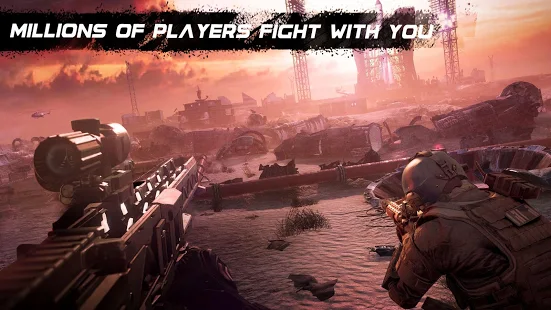 Sniper Ops - Best counter strike gun shooting game + (A lot of gold coins diamonds) for Android.png