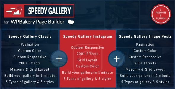 Download Speedy Gallery Addons for Visual Composer Page Builder…