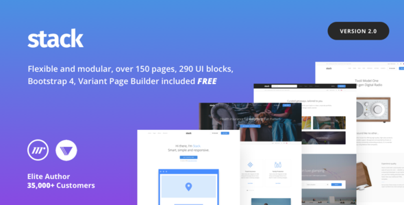 Download Stack – Multi Purpose HTML with Page Builder…