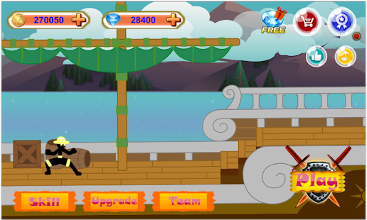 Stickman Hero - Pirate Fight + МOD (Unlimited Gold Coins Gems) Free For Android.png