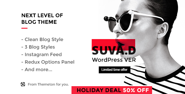 SUVAD - Personal Blog Minimal WordPress Theme.png