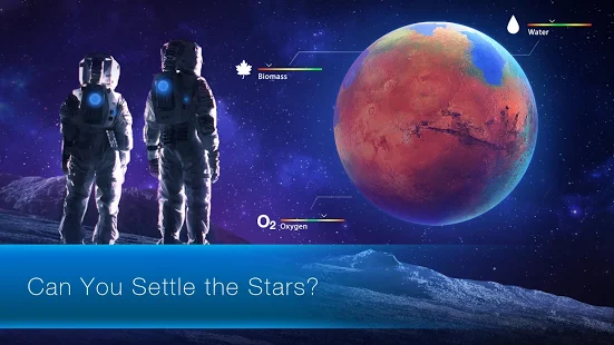TerraGenesis - Space Colony + МOD (Money Unlock planets) Free For Android.png