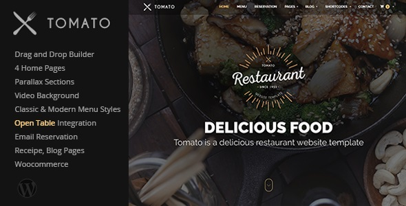 Tomato - Restaurant, Cafe, Espresso WordPress Theme.jpg