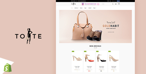 Download Tote | Shoes and Bags Shopify theme v1.2…