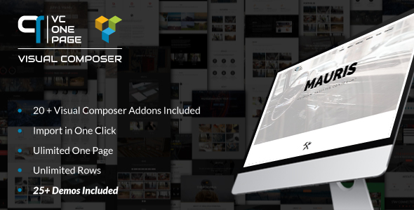 Download VC One Page Builder – Addons for Visual…