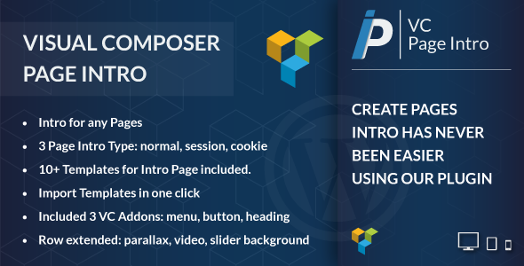 Download Visual Composer Page Intro v1.1 Nulled