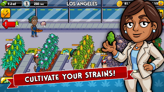 Weed Inc + (Mod Money Gems Free Shopping) Free For Android.png