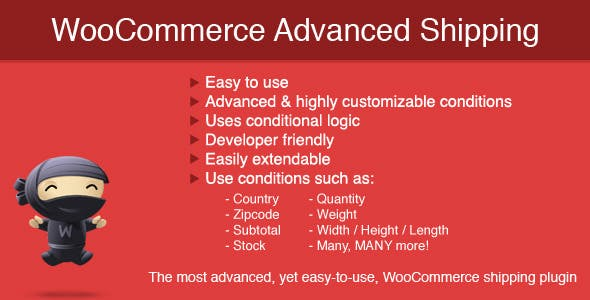 Download WooCommerce Advanced Shipping v1.0.14 Nulled
