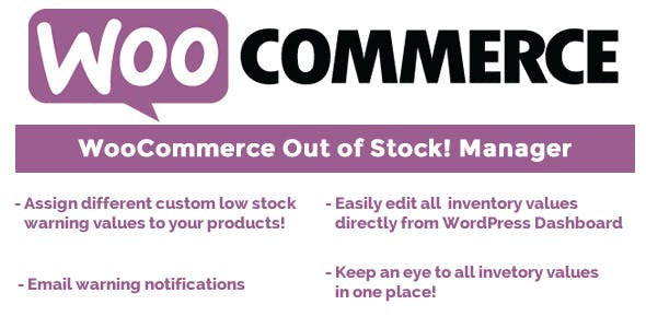 Download WooCommerce Out of Stock! Manager v4.2 Nulled