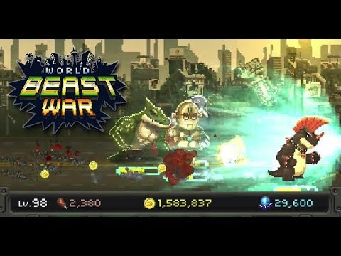 World Beast War Destroy the World in an Idle RPG + (Unlimited Gold Meat Gems) Free For Android.png