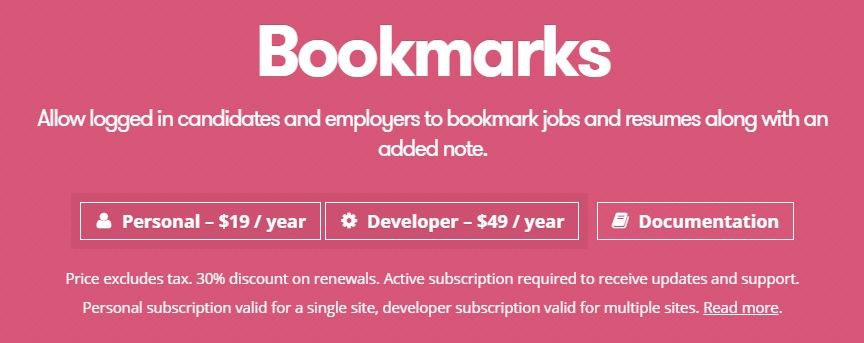 WP Job Manager Bookmarks Add-on.jpg