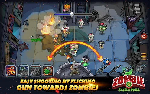 Zombie Survival Game of Dead + Mod (a lot of money) Free For Android.png