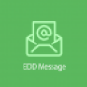Easy Digital Downloads EDD Message Addon